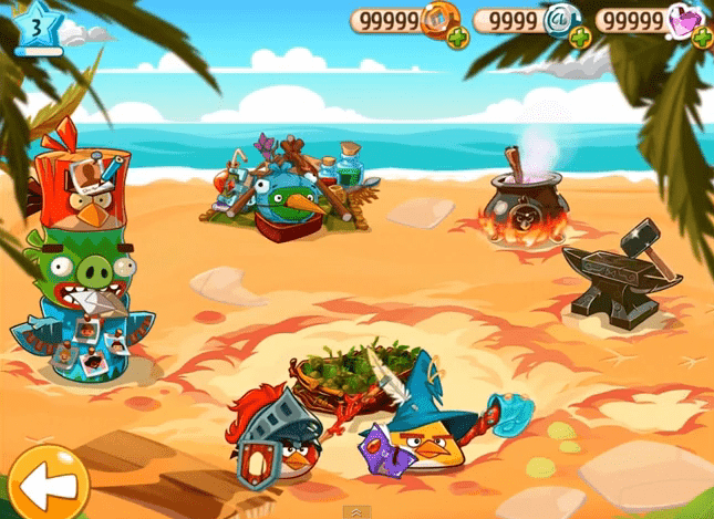 angry birds epic trainer