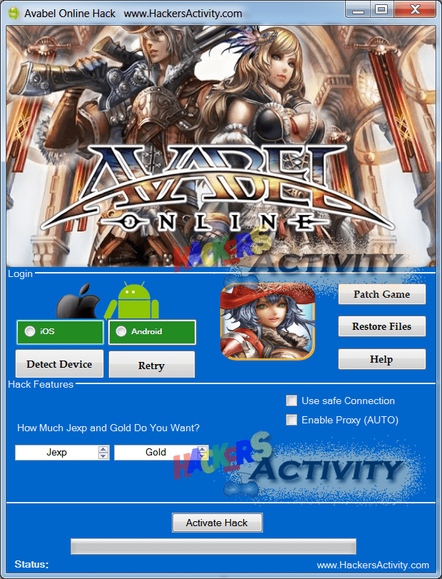 avabel online hack for android ios