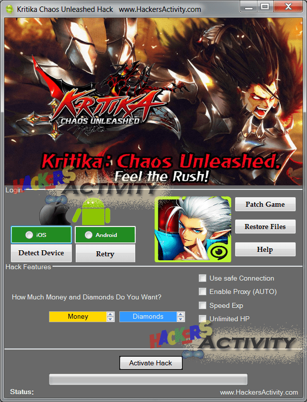 Kritika Chaos Unleashed download hack