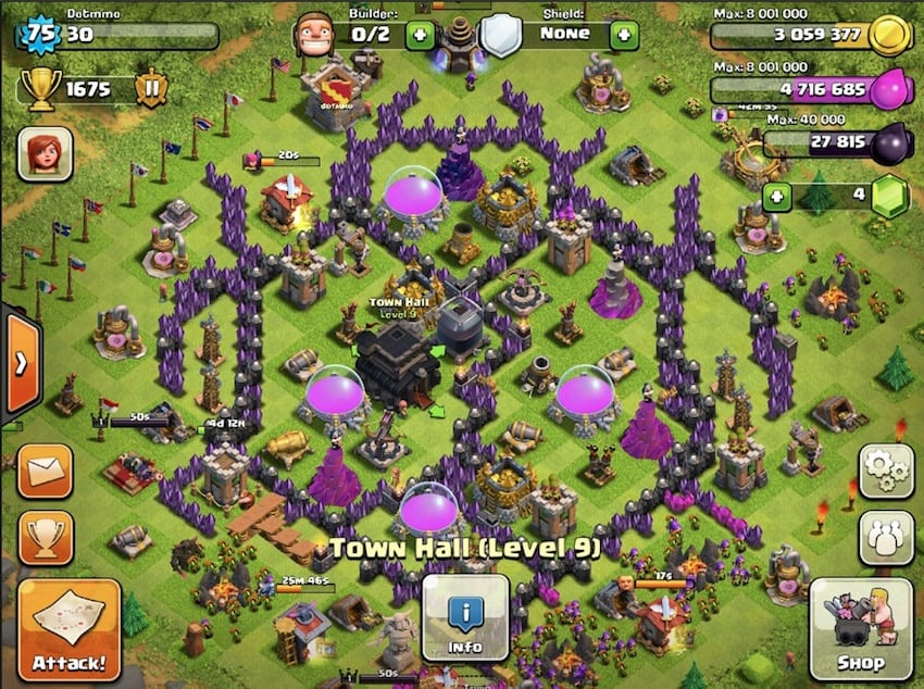 something abour clash of clans android ios