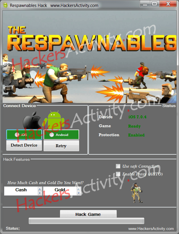 Hack tool Respawnables