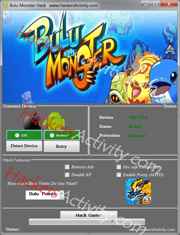 bulu monster generator