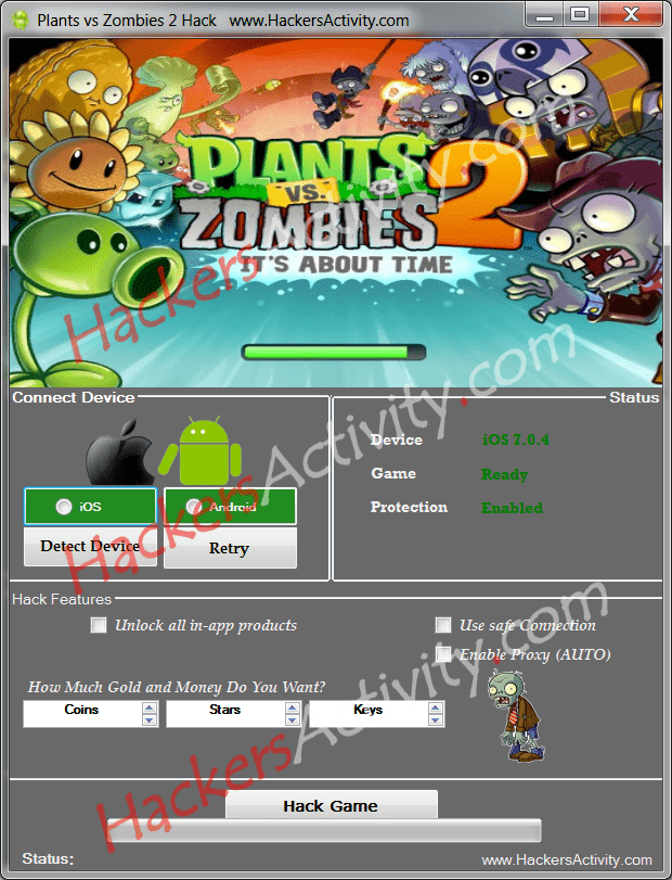 Plants vs zombies 2 cheat free download