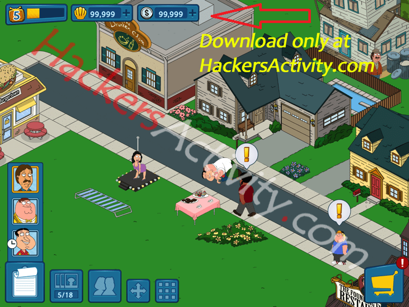 family guy hack proof